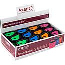 Точилка с контейнером Neon Soft,  AXENT, фото 2