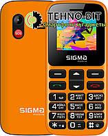 Телефон Sigma Comfort 50 CF113 HIT2020 Orange Гарантия 12 месяцев