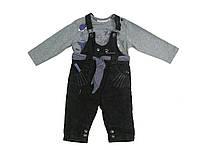 Костюм : Джемпер, комбинезон Losan MC BABY GIRLS BABY (028-8017AD/582) Светло-серый M3-62 см