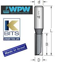 Фреза пазовая двухзубая D12 B32 d12 K-BITS P251202K