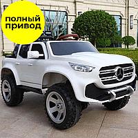 Электромобиль Kidsauto Mercedes-Benz X-class concept style 4Х4 чёрный лак (3388 white), фото 1