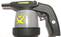 газовая горелка с пьезоподжигом Topex(сменый картридж 190г)