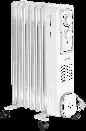 Масляний радіатор ECG OR-1570, фото 2