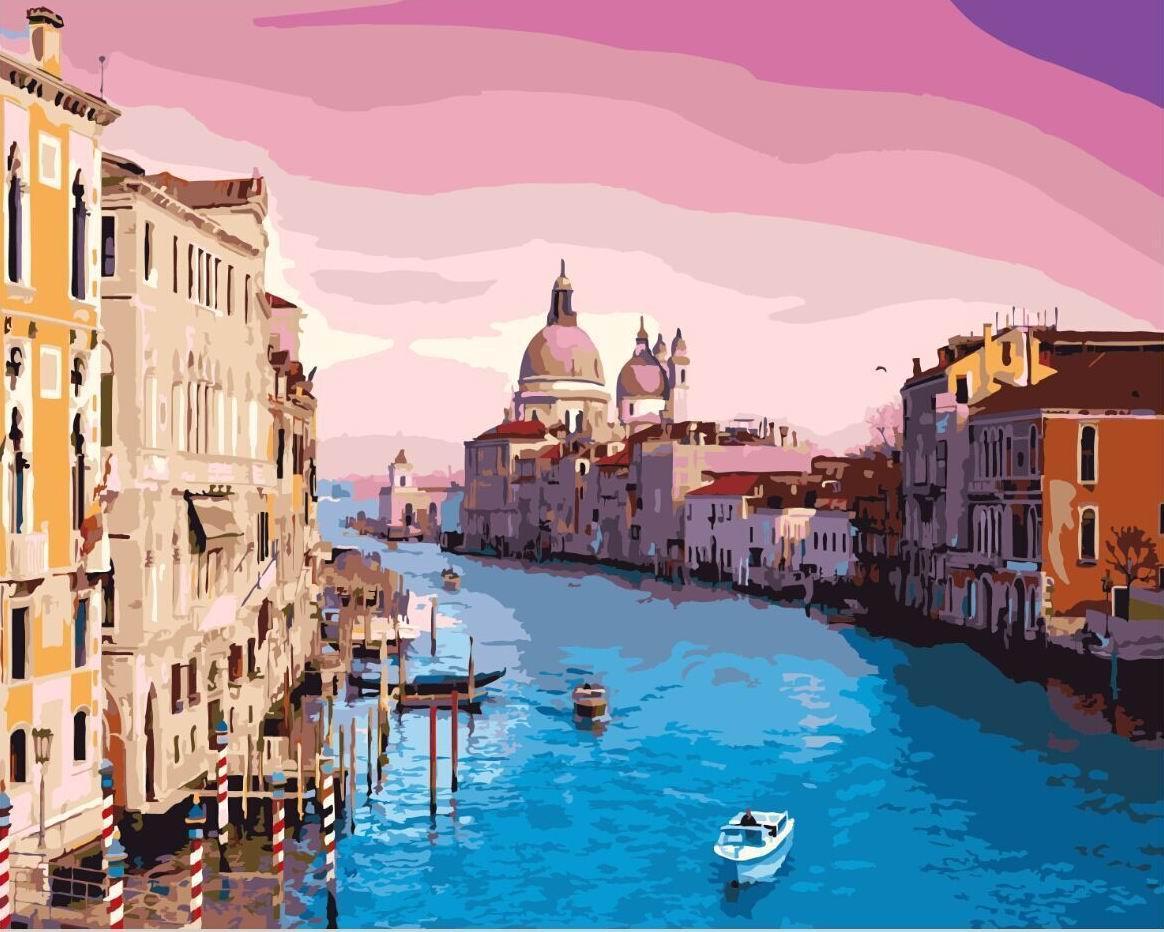 Картина по номерам Brushme Венеция GX8337 40х50см