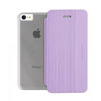 Чехол-книжка Viva Madrid для Apple iPhone 5С Clase Femme, Purple (VIVA-IP5CCRL-CLFPUR)