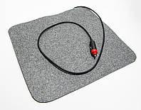 Инфракрасный коврик с подогревом Трио, грелка для авто, размер 37х32 см., фото 1