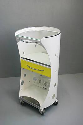 Столик Панок-4 (овальный) С ящиком