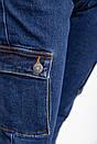 Джинсы женские 129R8277 цвет Синий, фото 2