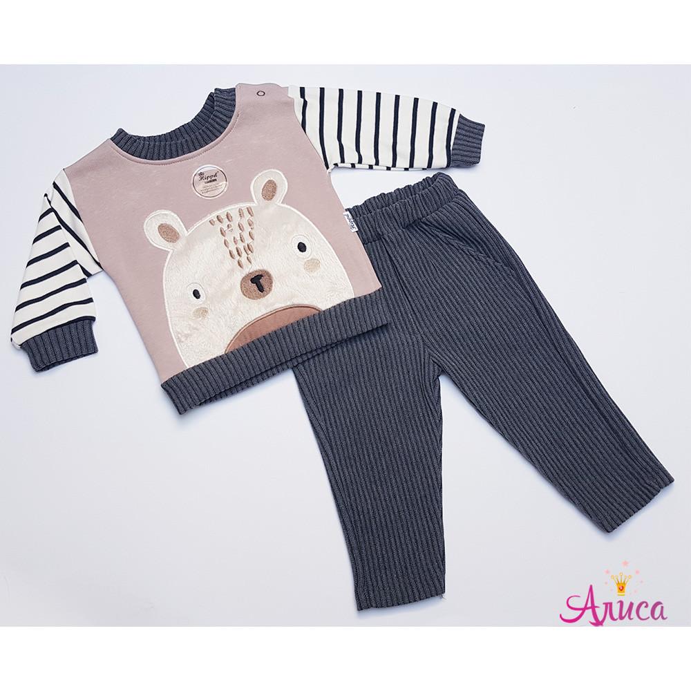 """Детский костюм """"Мишутка"""" для мальчика 6-12 месяцев"""