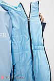 Двусторонняя демисезонная куртка для беременных FLOYD OW-30.011 синяя с голубым, фото 6