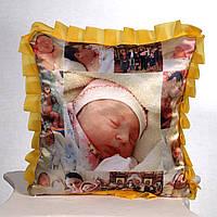 Подушка с фото на подарок