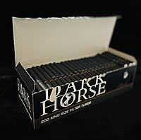Гільзи для сигарет Dark Horse 200 (сигаретные гильзы для набивки табаком), фото 1