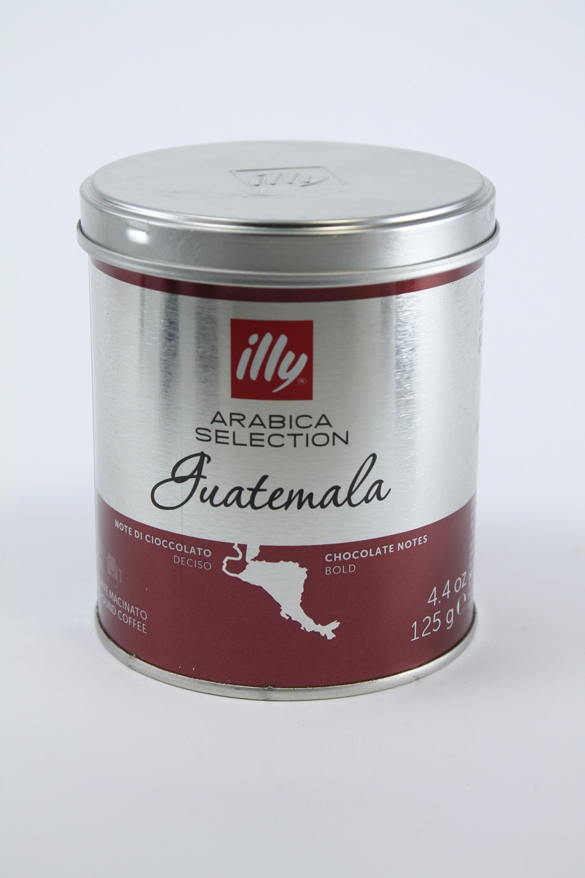 Кофе Молотый ILLY GVATEMALA MONOARABICA 100% Арабика 125 гр