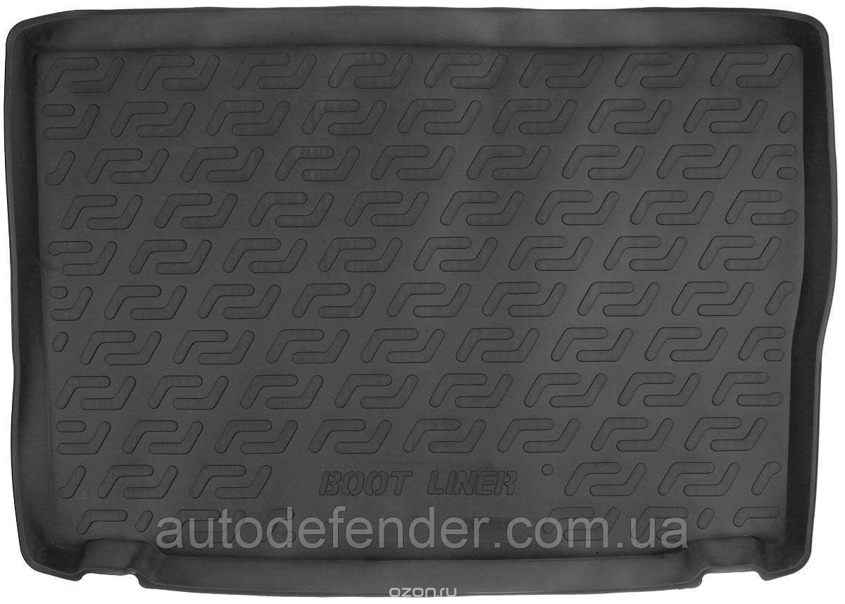 Килимок в багажник для Opel Meriva B 2010-2017, резино/пластиковий (Lada Locker)