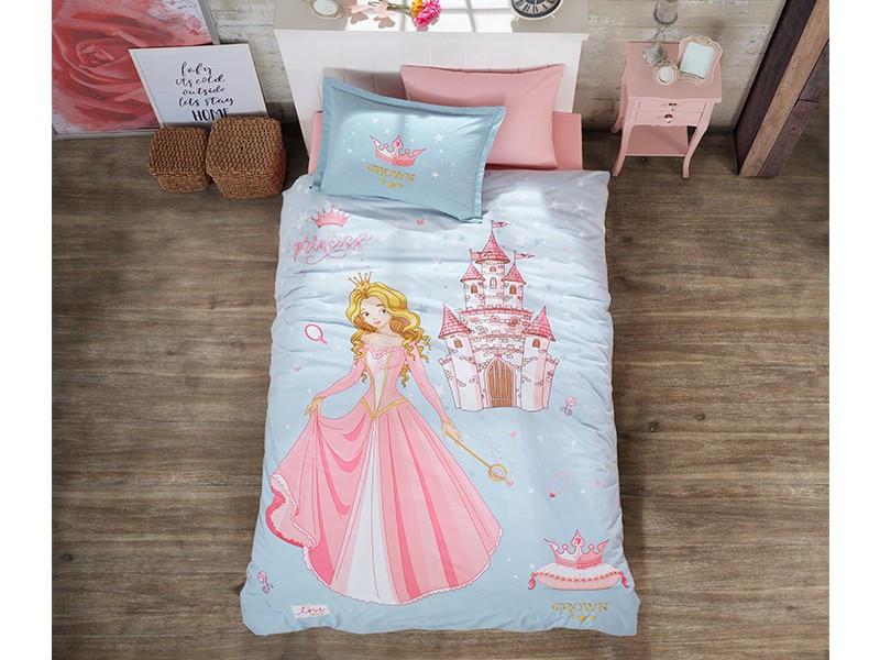 Комплект постельного белья Clasy Ранфорс  Crown 160x220