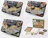 """Детский набор для творчества """"Набор для проведения раскопок Скелет динозавра"""" (2 скелета в наборе) 38*28 см"""