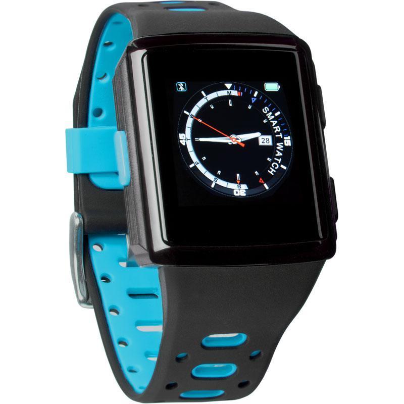 Смарт-часы Smart Watch Gelius Pro M3D (WEARFORCES GPS) Black/Blue (00000076475)