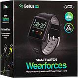 Смарт-часы Smart Watch Gelius Pro M3D (WEARFORCES GPS) Black/Blue (00000076475), фото 8