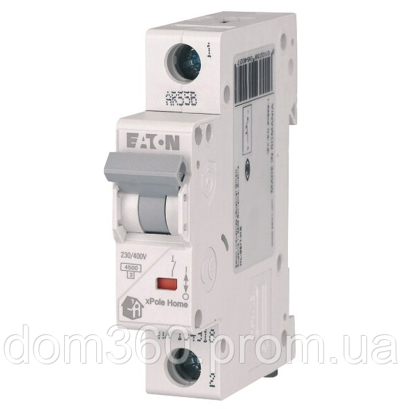 Автоматический выключатель EATON HL-6/1C