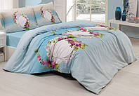 Комплект постельного белья евро 200х220  Gokay Ranforce Izem
