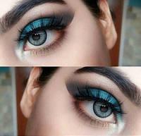 Серые линзы Cos для карих глаз, кукольные серые линзы