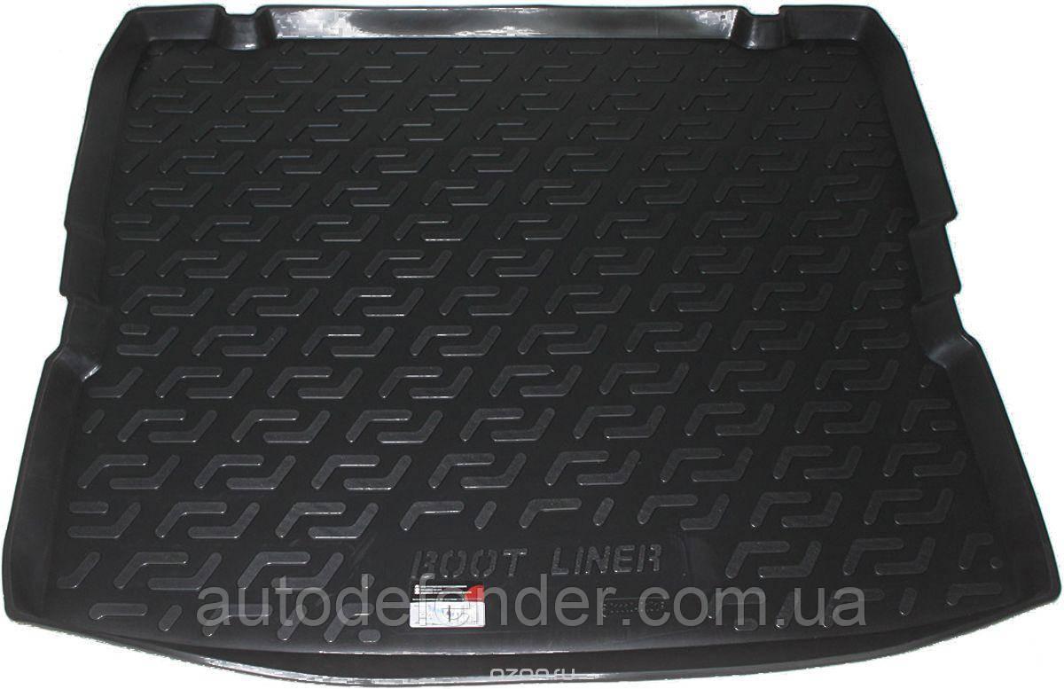 Килимок в багажник для Opel Zafira B 2005-2012, резино/пластиковий (Lada Locker)