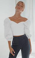 Блуза 852651/1 50/52 белый