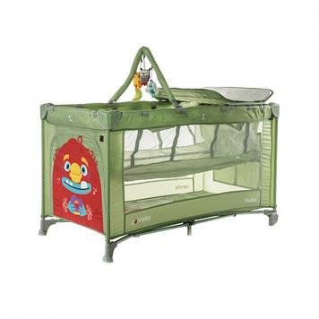 Детская кровать манеж  со вторым дном Манеж для детских игр