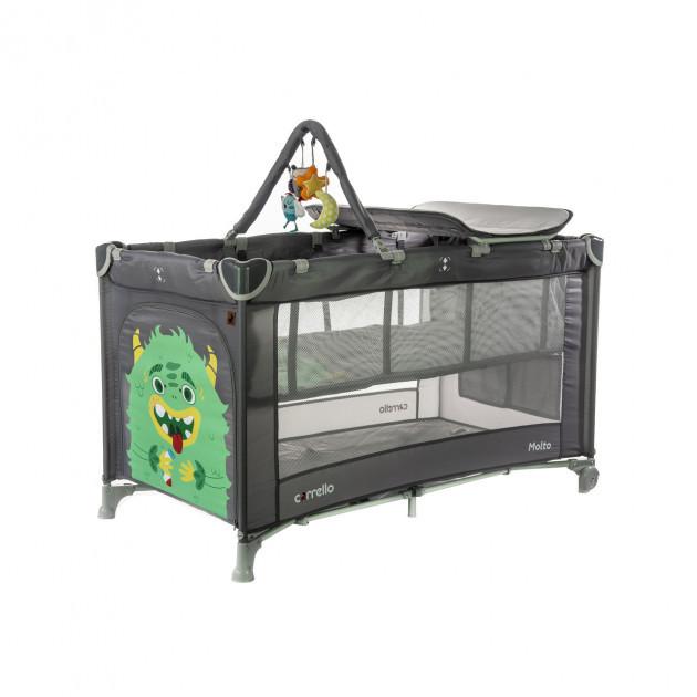 Детский манеж-кровать  со вторым дном Манеж для ребенка Многофункциональный