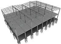 Металлоконструкции каркасов зданий