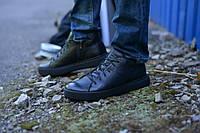 Ботинки укороченные натуральная кожа черные, фото 1