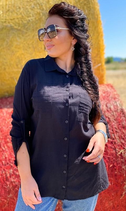 Рубашка 852632/5 46/48 чёрный