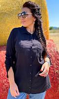 Рубашка 852632/5 46/48 чёрный, фото 1