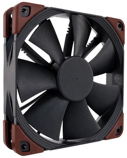 Вентилятор Noctua iPPC для корпуса 120x120x25мм SSO2 450-2000 об/мин 29,7 дБ 4pin PWM чёрный (NF-F12iPPC-2000