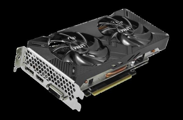 Видеокарта Palit GeForce GTX 1660 Dual 6GB (NE51660018J9-1161A)