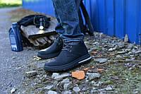 Ботинки черные натуральная кожа сарагоса, фото 1