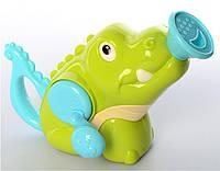 Детская игрушка для купания Леечка для ванны Крокодил