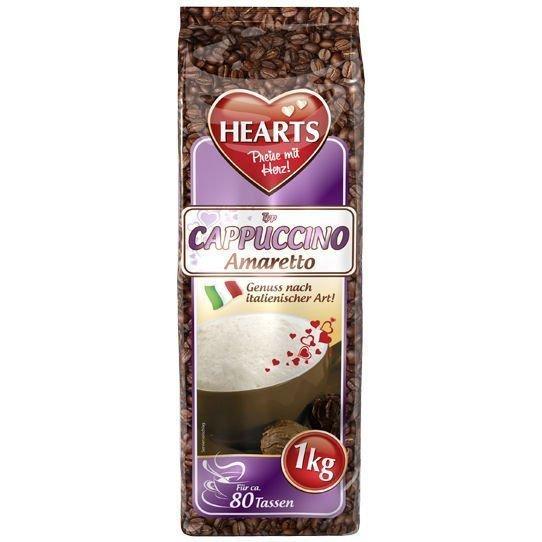 Капучино Hearts Amaretto 1 кг Германия