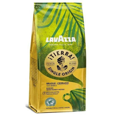 Кофе Молотый Lavazza Tierra BRAZILE 180 г, фото 2