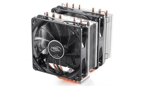 Охладитель для проц. Deepcool NEPTWIN V2.0 all Intel+all AMD sockets,159x136x126мм,2 PWM HB (NEPTWIN V2.0)
