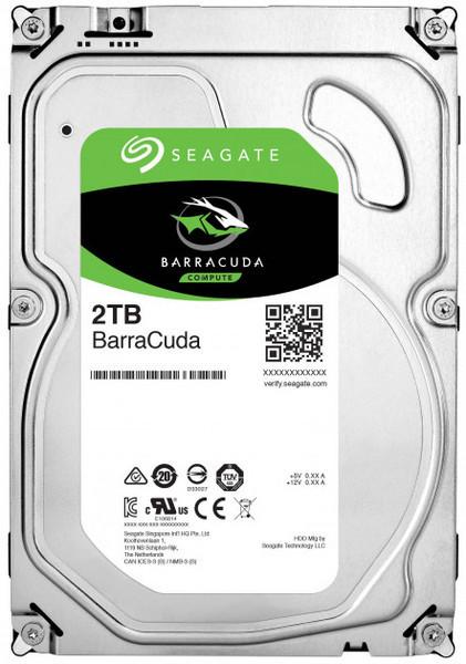 Жесткий диск внутренний Seagate Barracuda 3,5 2TB SATA 256MB 7200 об/мин (ST2000DM008)