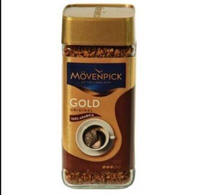 Кофе  Растворимый 100% Арабика J.J.Darboven Movenpick Gold Original скл. 100 г
