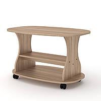 Журнальный стол для книг и газет Каприз, мобильный кофейный столик 900х580х526 мм (Компанит)