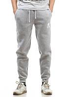 Спортивные штаны теплые Ястребь серые, фото 1