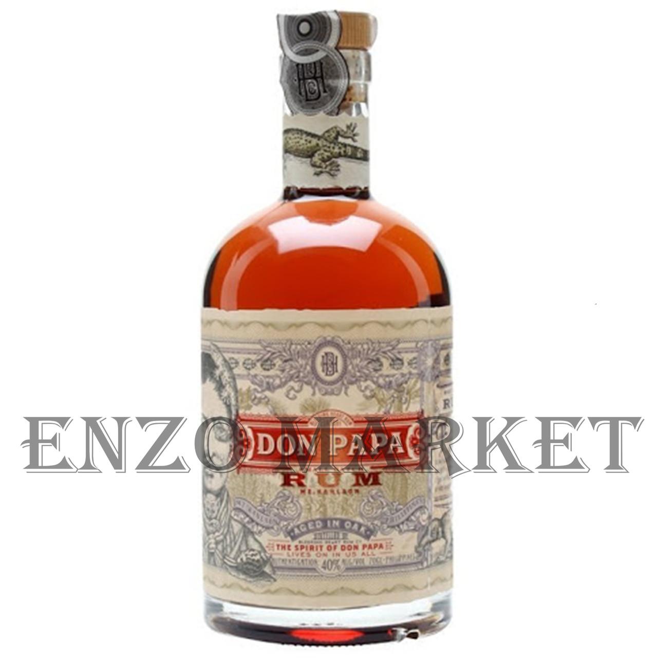 Ром Don Papa Small Batch Rum (Дон Папа Смолл Бач Ром) 40%, 0,7 литра