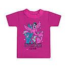 Дитяча стильна футболка Awesome squard для дівчаток кулір, фото 2