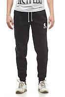 Спортивные штаны теплые Ястребь черные