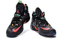 Баскетбольные кроссовки Nike Lebron 12 черные
