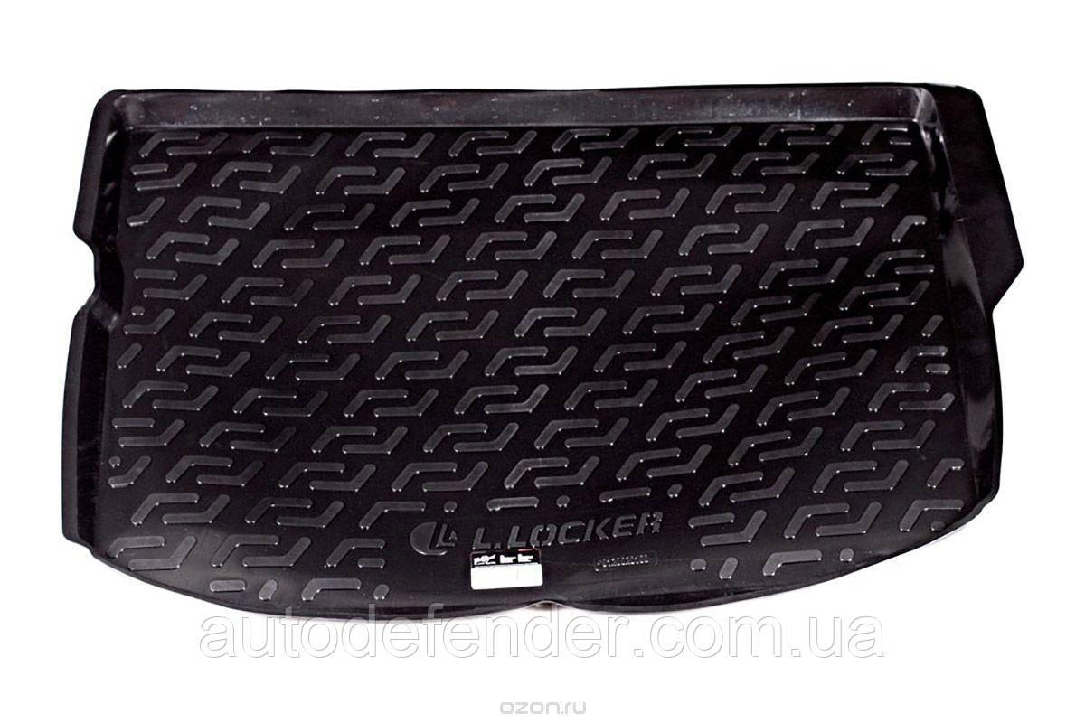 Коврик в багажник для Peugeot 4008 2012-17, резино-пластиковый (Lada Locker)