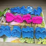 Набір форм-плунжерів Дитинство для печива,мастики(з пресом) 4шт., фото 3